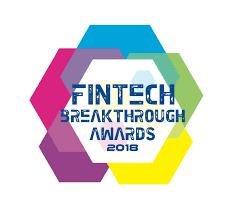 Fintech Breakthrough Awards 2018